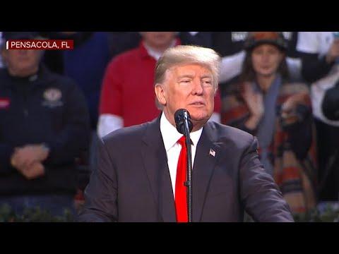 "Trump holds ""Make America Great Again"" rally"