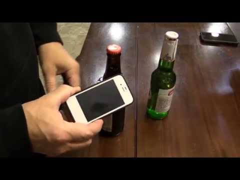Open A Beer Bottle With Anything - Without breaking the bottle!