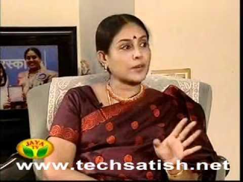 Saranya ponvannan talking about Ajith