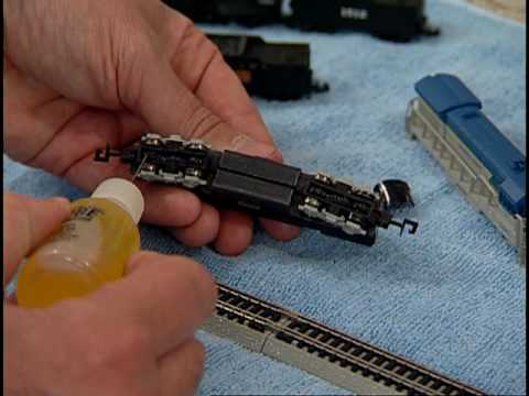 Model Railway Train Scenery -Awesome Bachmann N Scale Starter Set Video Part 2