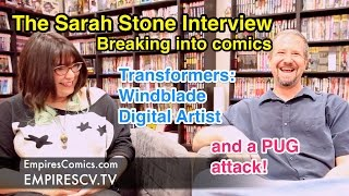 How Sarah Stone Became the Breakout IDW Transformers Artist of 2014 [Interview]