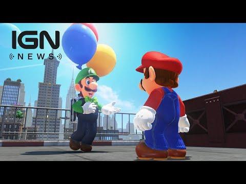 Super Mario Odyssey: Luigi's Balloon World Announced - IGN News