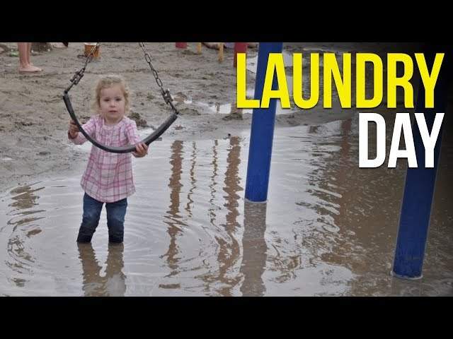 Adjusting to Living in an RV // Washing Clothes, Working Out, Toddler Play Time