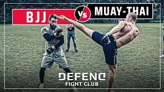 THAIBOXER vs. BJJ-Blue-Belt | MMA Streetfight | DFC