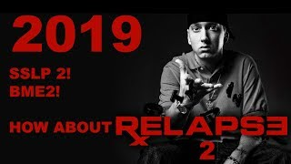 5 Things We Can Expect If Eminem Releases A Relapse 2 in 2019