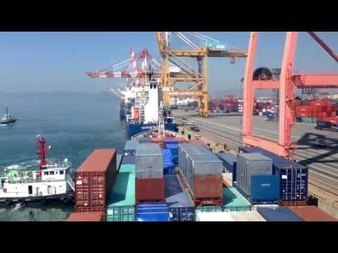 A Time-lapse Voyage—M/V YUFENG Shanghai Maritime University