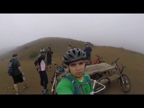 Mountain Biking Point Mugu 1 24 2016 4K