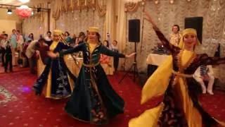 """Крымско-Татарский танец Хайтарма ансамбль """"Бахор"""" +7-966-387-25-00"""