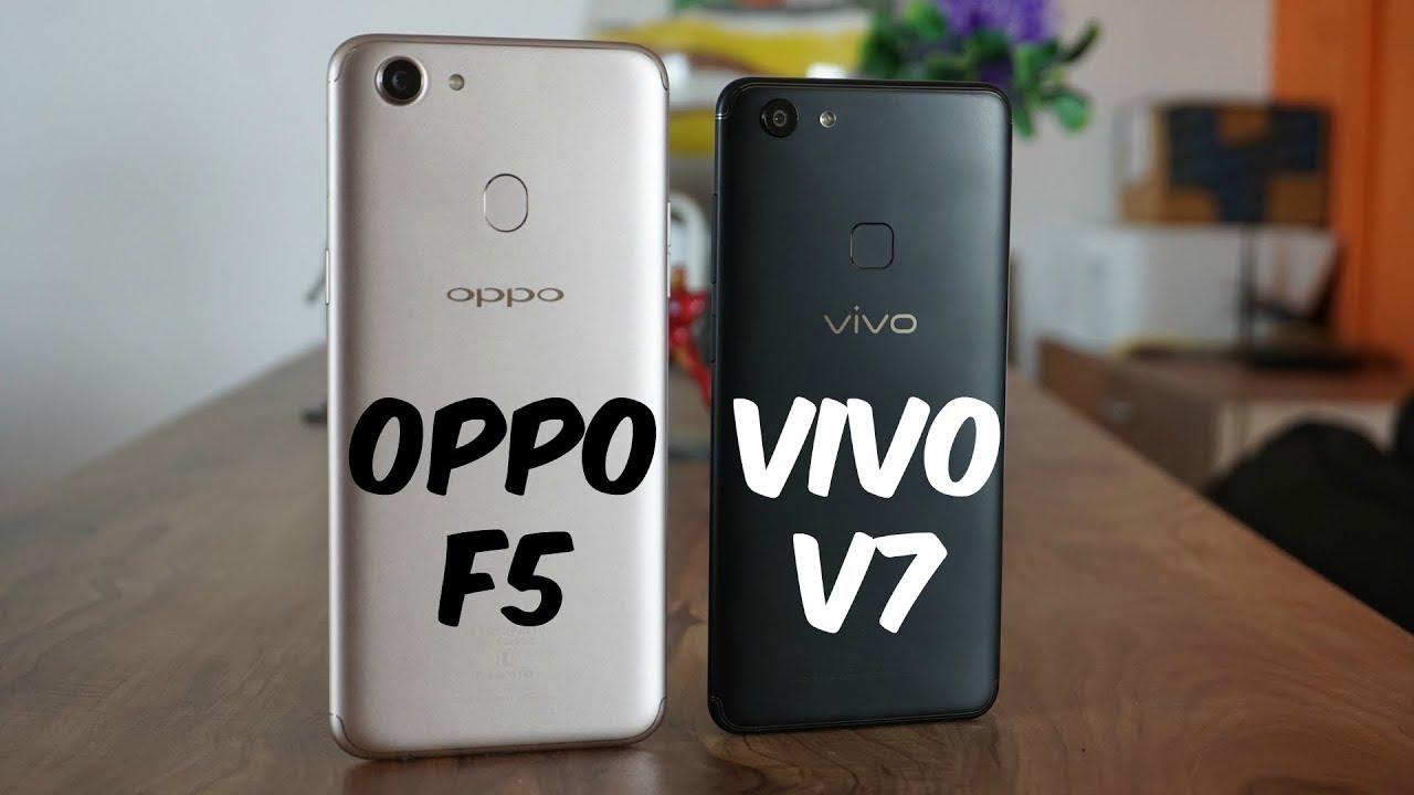 Oppo f5 vs vivo v7 comparison which is the better phone youtube oppo f5 vs vivo v7 comparison which is the better phone stopboris Images