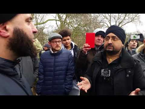 Abdul hamid vs Raj | why do you support Tommy| Speakers Corner