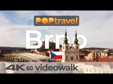 Walking in BRNO / Czech Republic - Old Town and Castle - 4K 60fps (UHD)