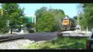 CSX A-746 Southbound Through Auburn, Al