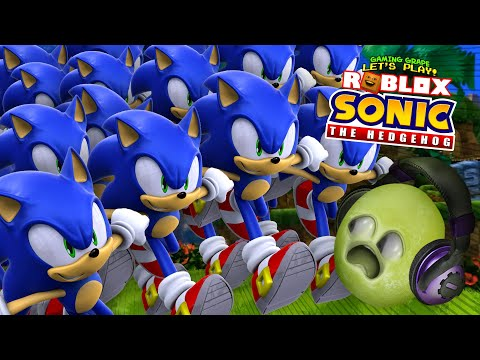 ATTACK Of Sonic CLONES!! (Sonic The Hedgehog Roblox)