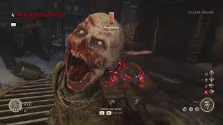 Call of Duty®: WWII Zombies Silent Gameplay