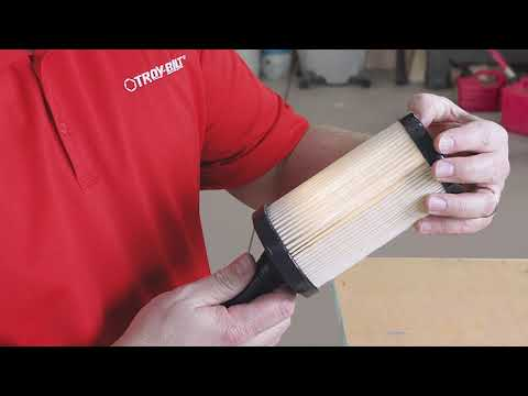 How to Clean or Replace A Riding Lawn Mower Air Filter | Troy-Bilt