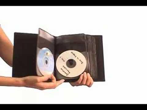 Ordinaire Small Size CD DVD Storage Organizer Binder For 24 CD/DVDu0027s