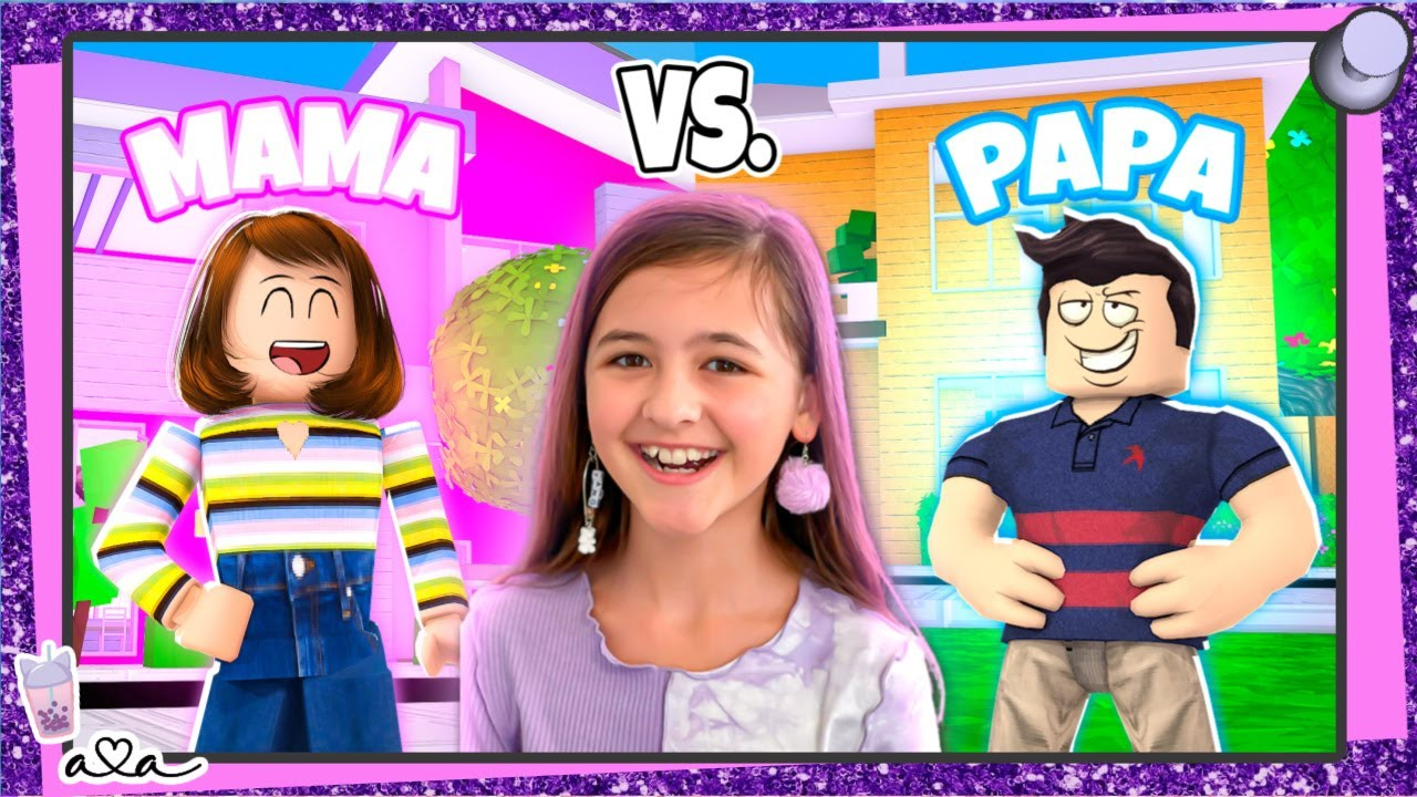 MAMA vs PAPA in Brookhaven Roblox Roleplay ? Alles Ava Gaming