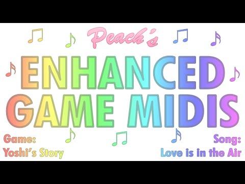 Enhanced Nintendo MIDIs:
