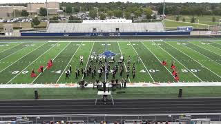 Pea Ridge School Marching Band performs