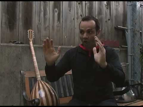 Interview and film of KARIM NAGI, teacher of Arab music and dance