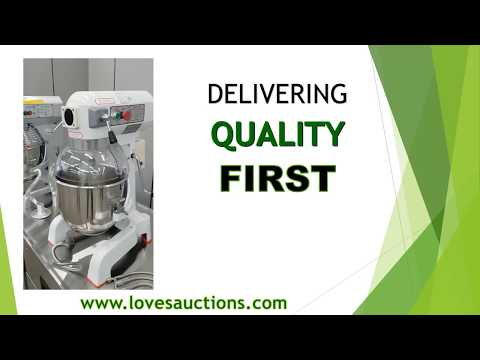 Love's Auctions - May 24th, 2018 Restaurant Equipment Auction Video