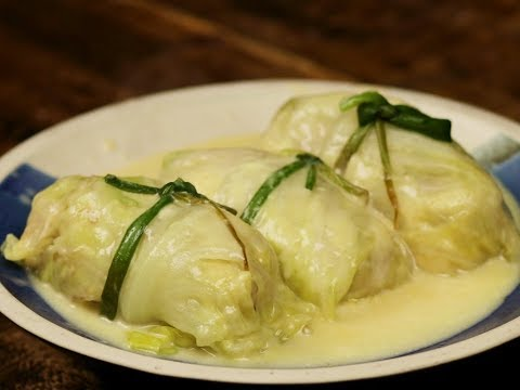 How To Make Cheesy Galunggong Repolyo Rolls | Fish Stuffed Cabbage Rolls Recipe | BiteSized: Fish