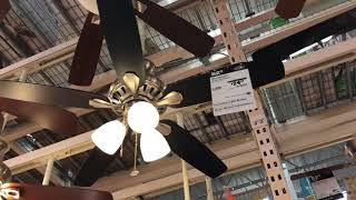 Ceiling Fans at Home Depot (4/7/2018)