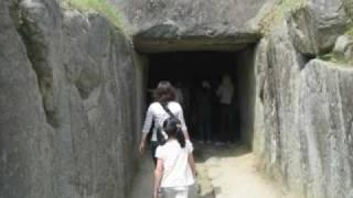 国営飛鳥歴史公園にある石舞台古墳を訪れました。 蘇我馬子(そがのうま...