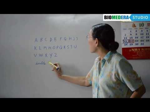 Bài 1: Bảng chữ cái tiếng Pháp - Les lettres de l'alphabet (Phần 1)