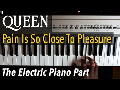 Queen - Pain Is So Close To Pleasure /// ELECTRIC PIANO TUTORIAL [Play Along Chords]