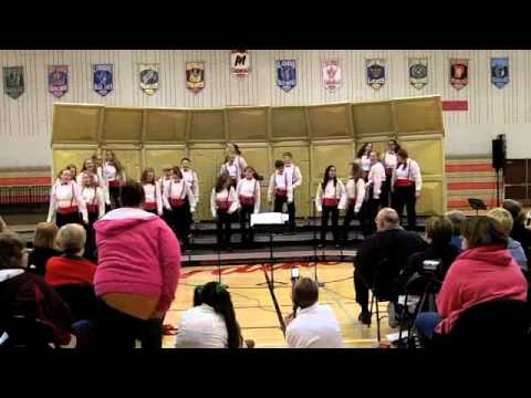 "Marshall Middle School Show Choir - ""Rock and Roll Christmas"""