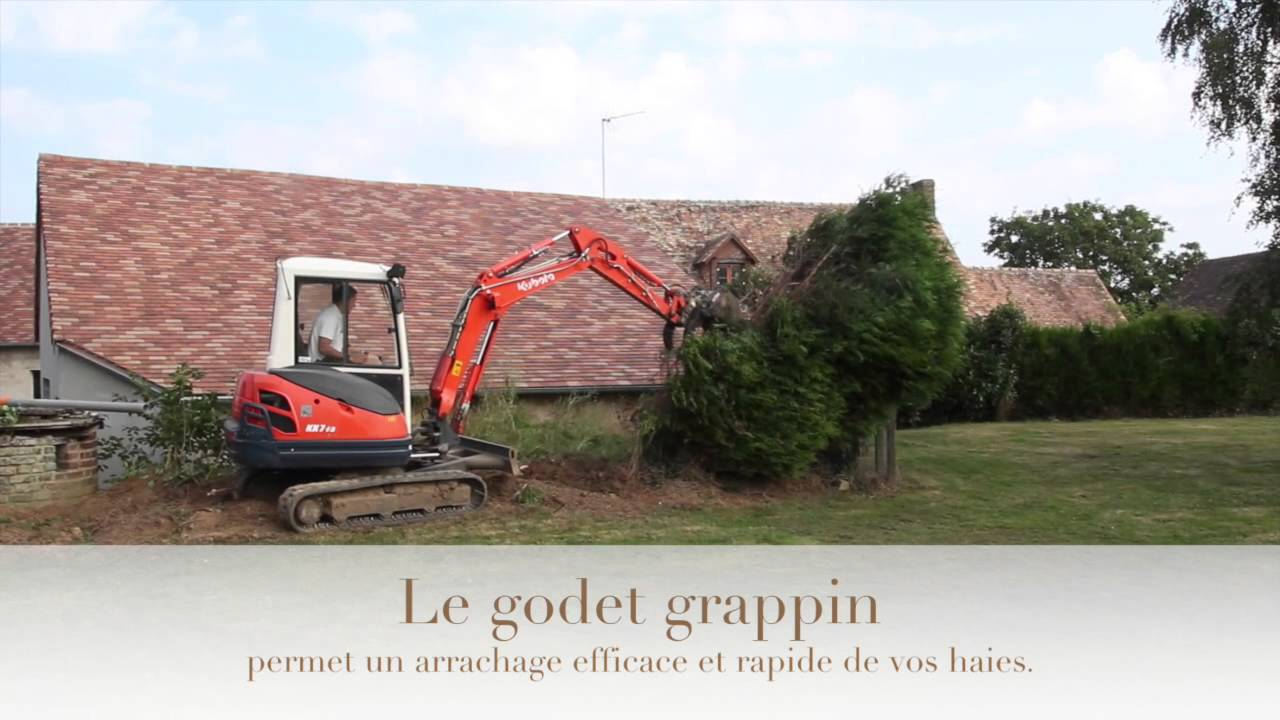 godet grappin a chacun son jardin youtube. Black Bedroom Furniture Sets. Home Design Ideas