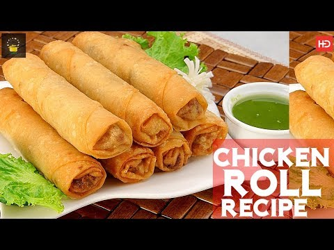 Vegetable Roll With Homemade Sheets - Roll Recipe With Roll Patti - Special Ramadan Recipe