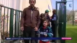 Incendie dans le camp rom de la carrière Saint-Pierre