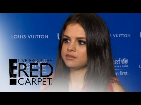 Selena Gomez Shuts Down Charlie Puth Dating Rumors   from the Red Carpet  E! News