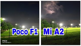 Poco F1 camera Vs mia2 camera in full detail | Poco f1 camera review