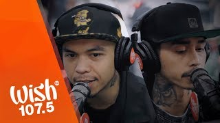 "Loonie and Ron Henley perform ""Ganid"" LIVE on Wish 107.5 Bus"