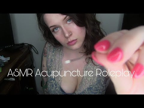 ASMR Acupuncture Roleplay | step by step