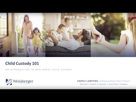 New Jersey Child Custody 101