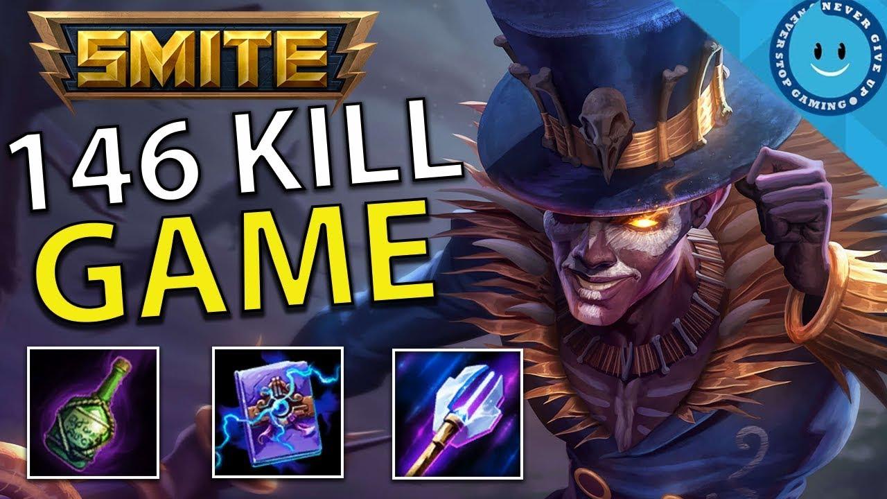 Best Smite Gods 2020 BARON SAMEDI BURST IS INSANE! (SMITE)   146 KILLS IN A SMITE GAME