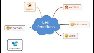 Le vocabulaire des émotions (jeu d'associations)