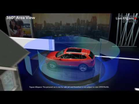 2018 Volkswagen Tiguan - LIVE - WORLD DEBUT - NAIAS 2017