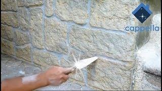 Самый простой способ декора под камень! Имитация камня. Полезные советы