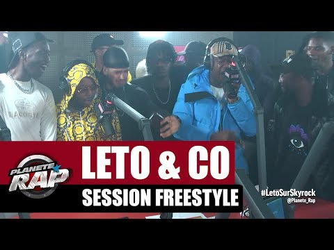 Youtube: Leto, Sadek, Ninho, Da Uzi & Hös Copperfield – Session Freestyle #PlanèteRap