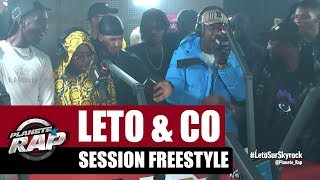 Leto, Sadek, Ninho, Da Uzi & Hös Copperfield - Session Freestyle #PlanèteRap