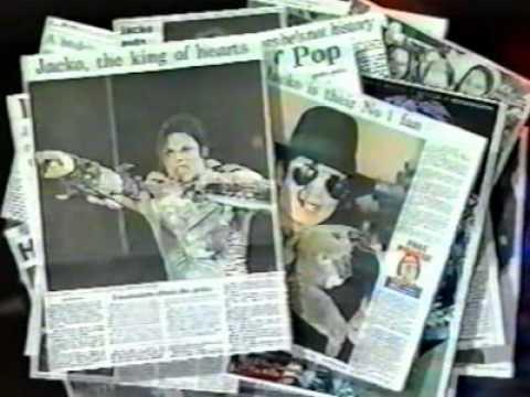 Michael Jackson - Australia HIStory Tour Commercial