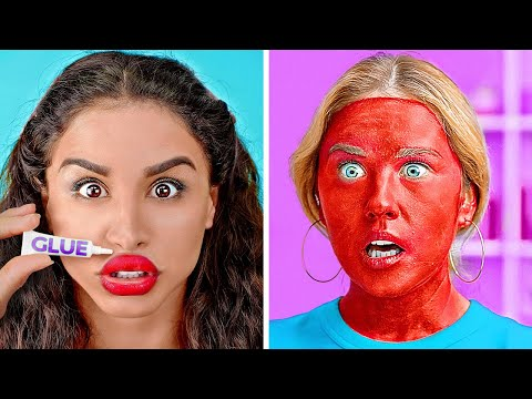 TOTALLY CRAZY BEAUTY HACKS || Funny Beauty Tricks That Actually Work