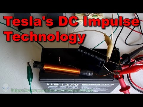 Tesla's DC Impulse Technology (Capacitor Tests)