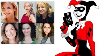Characters Voice Comparison - 'Harley Quinn'