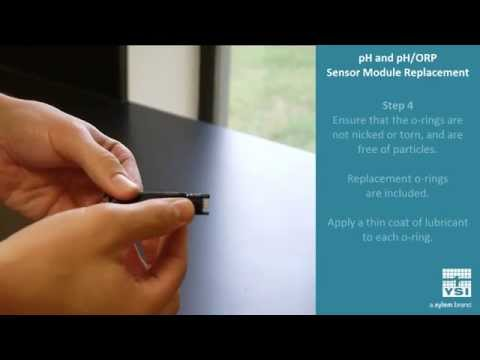 EXO Sondes: Replacing The Sensor Module, PH And PH/ORP | YSI